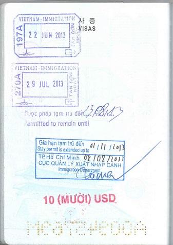gia hạn miễn thị thực 15 ngày